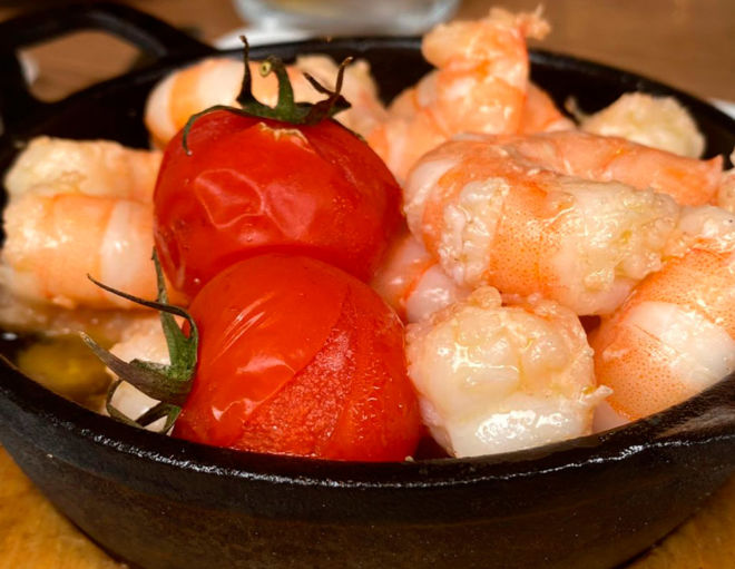gambas-tomate